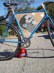 Obama :: Critical Mass Bicycle Halloween Costume