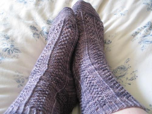 Mama Blue Socks