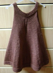 Dress Baby Knit (tricoemaistrico) Tags: baby brown de tricot dress knit beb vestido marrom tric vestidinho