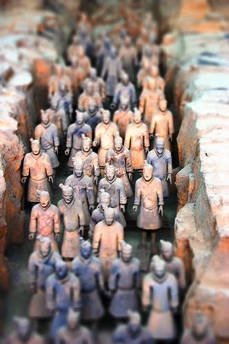 フリー画像| 人工風景| オブジェ|  彫刻/彫像| 兵馬俑| テラコッタ・ウォリア| 中国風景| 世界遺産/ユネスコ|    フリー素材|