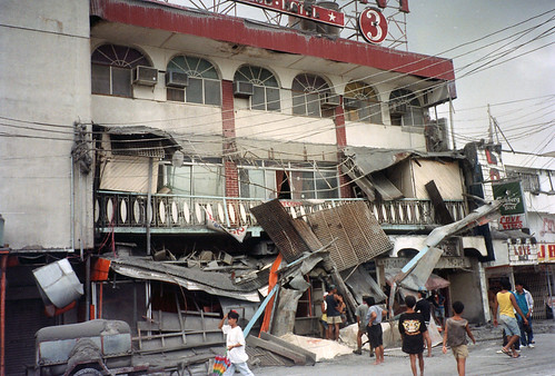 Aftermath of Mount Pinatubo Volcano (Olongapo City, Philippines ...