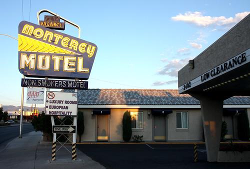 Monterrey Motel sign