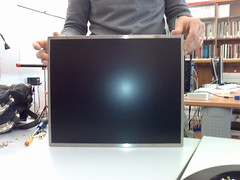 Disassembling Monitor (twentyfoursides) Tags: project flow video monitor acer disassembling accademia smontare