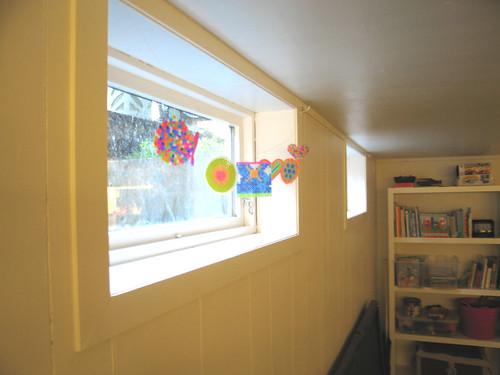 Window decoration playroom