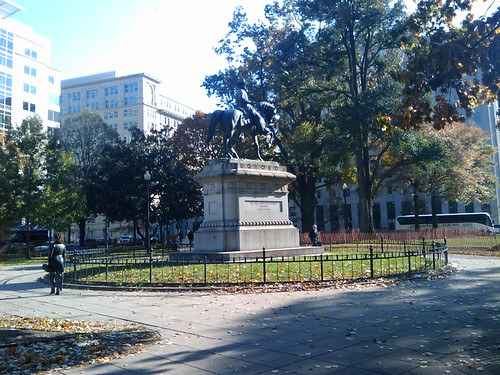 """""""View of McPherson Square"""" by dionhinchcliffe on flickr"""