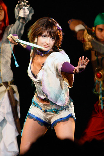 Soul Calibur 4 Xianghua Cosplay