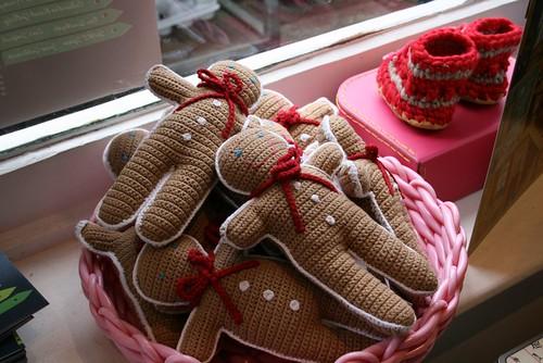 Bonecos de gengibre