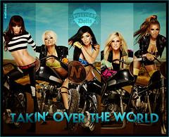 Pussycat dolls - Takin' over the world (netmen.) Tags: world nicole doll dolls jessica ashley domination over melody kimberly takin pussycat blend pcd netmen