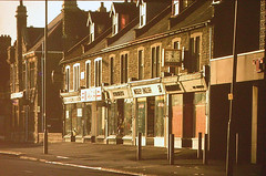 06 Central Fishponds, Holmans the jewellers (emmdee) Tags: oldphoto slides fishponds fishpondsroad fishpondsbristol 1960sor1970s