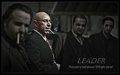 LEADER! (khalid almasoud) Tags: friends light canon dark photography group vision leader mm 50 khalid xti 400d almasoud