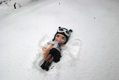 Pi in the snow