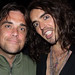 Robbie Williams & Russell Brand LA 2008