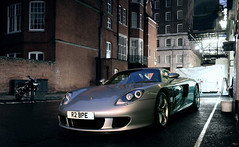 612 bhp (sjoerdtenkate.com) Tags: house london night grey porsche gb mayfair supercar v10 carreragt grosvenor