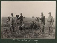 Turkish heliograph at Huj, 1917 (zac191418) Tags: turkey palestine communication ottoman heleiograph