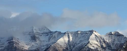 Panoramic Timp Peaks
