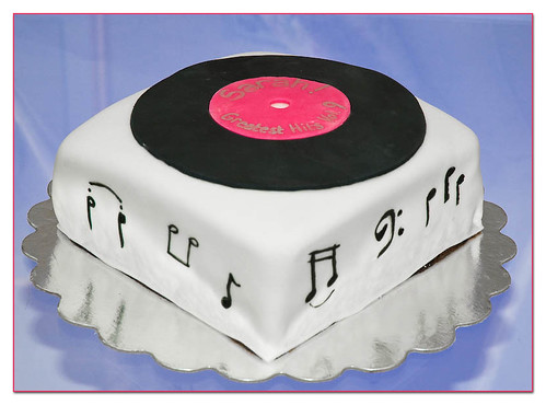 LP Birthday Cake