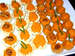 Sweet potato snacks.