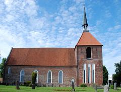 Ostfriesland Rysum Ziegelsteinkirche (Wolfsraum) Tags: ostfriesland gotik rysum ziegelsteinkirche
