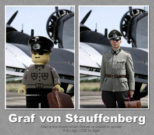 Graf von Stauffenberg custom minifig