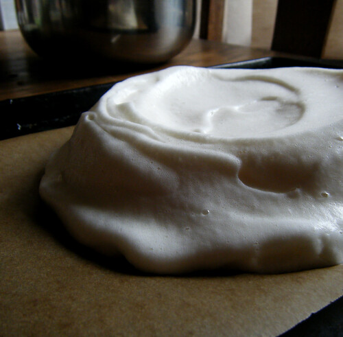Shaped Pavlova Batter