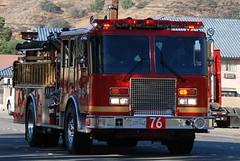 LOS ANGELES COUNTY FIRE DEPARTMENT (LACoFD) (Navymailman) Tags: santa county light truck fire lights los angeles country engine canyon brush department siren clarita lacofd losangelescountyfiredepartment