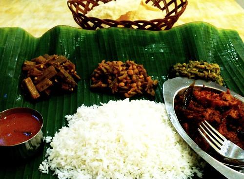 Un repas indien