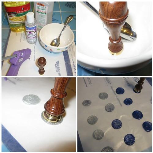 Meta Stamp Sealing & DIY Embossing Ink