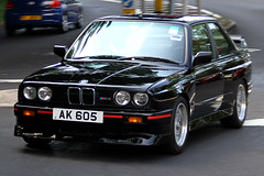 BMW, E30, M3, Hong Kong (Daryl Chapman's - Automotive Photography) Tags: auto classic cars car canon automobile conversion evolution german 7d bmw pan m3 panning rare e30 rhd righthanddrive lefthanddrive 18135mm worldcars ak605
