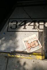 3448 feat. Justin Timberlake (drew*in*chicago) Tags: street brown hot macro art coffee metal stencil paint artist dof bokeh metallic beverage micro painter espresso getreal drewinchicago