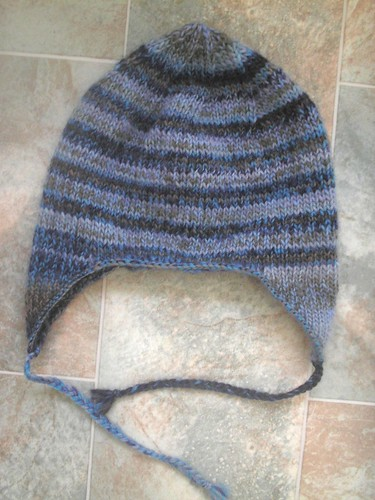 KNITTED EARFLAP HAT PATTERN - FREE PATTERNS