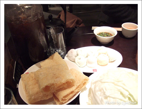 豆皮、大白菜、綜合手工包、酸梅湯