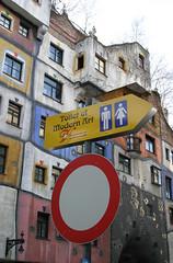 Hundertwasser Haus (NeedmoreVisuals) Tags: vienna art austria toilet wein