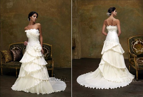 Best hair for wedding dress