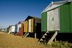 Beach Huts, Whitstable (pugwash00) Tags: england colour beach kent huts whitstable