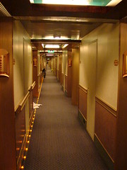 Verandah Deck Passageway (My Ports Of Call) Tags: carnival conquest caymans