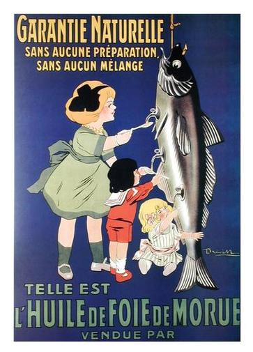 French Ad for Cod Liver Oil