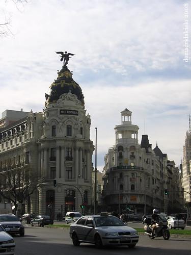 Imagen del edificio Metropolis de Madrid