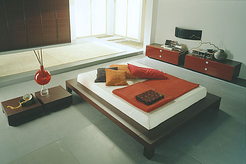 Kenso Contemporary Japanese Bedroom and Furniture | Home Trends | Decoration | Gardening from momoy.com