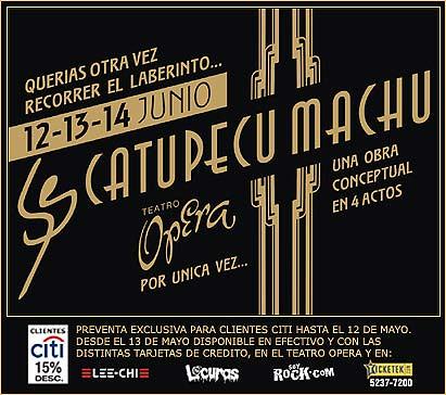 Teatro Opera - Flyer