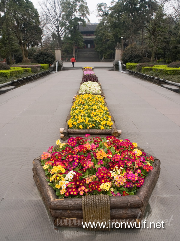 Aisle of Flowers at Dujiangyan
