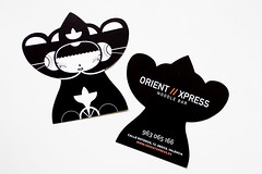 Orient Xpress bussines cards (malota) Tags: illustration restaurant drawing character restaurante businesscards dibujo malota personaje ilustracin tarjetas wwworientxpresses
