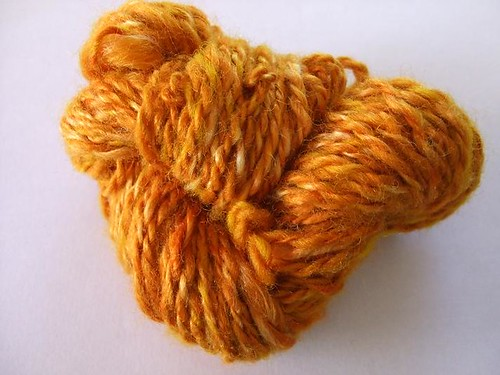 Turmeric Dyed 2 ply yarn