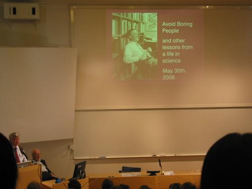 Lecture of James Watson