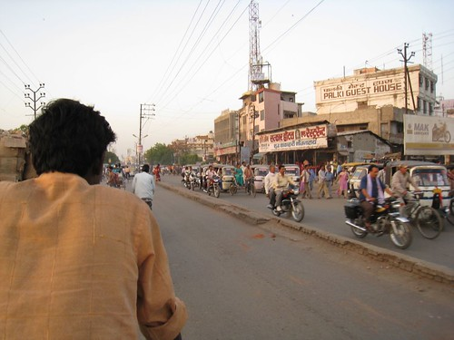 Bicycle rickshaw ride in Varanasi