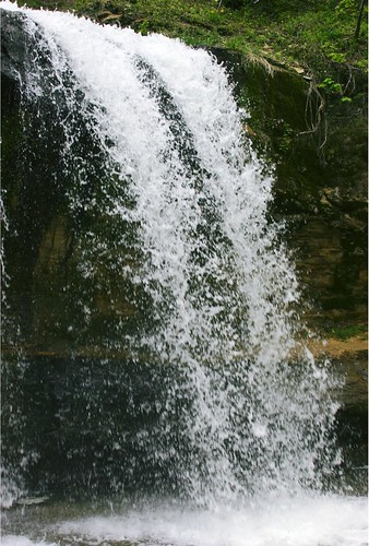Side View of Cascade Falls