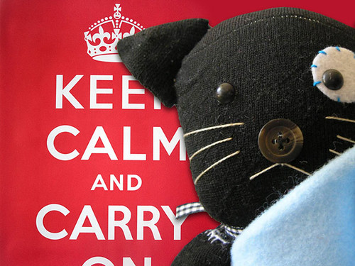 Pretinha: Keep Calm and Carry On