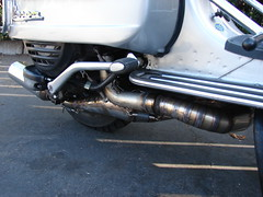 J&L Right hand expansion chamber (jefflynne.1elo) Tags: vespa