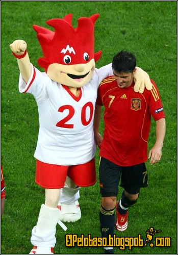 David Villa en la Euro08
