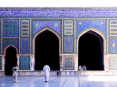 The blue mosque (MastaBaba) Tags: 2005 blue afghanistan mosque herat 20050729