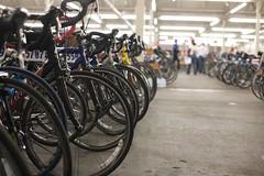 Bikes, bikes, bikes, echo, echo, echo.